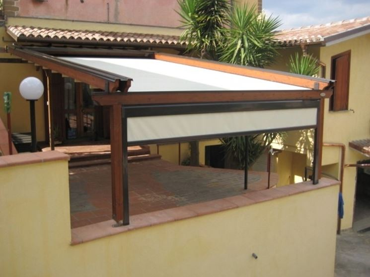 Gazebo per terrazzo gazebo copertura terrazzo con gazebo for Terrazzi arredamento da esterni