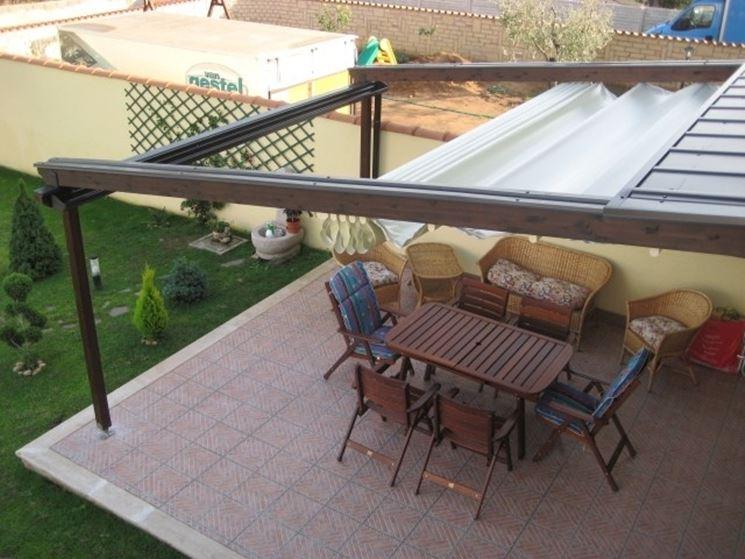 Gazebo per terrazzo - gazebo - Copertura terrazzo con gazebo