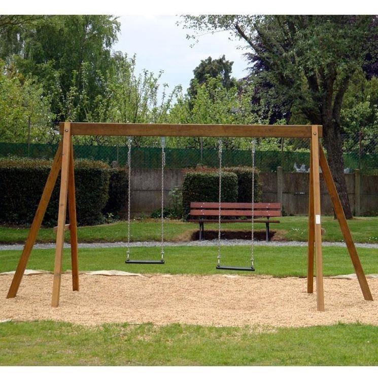 altalena da giardino semplice