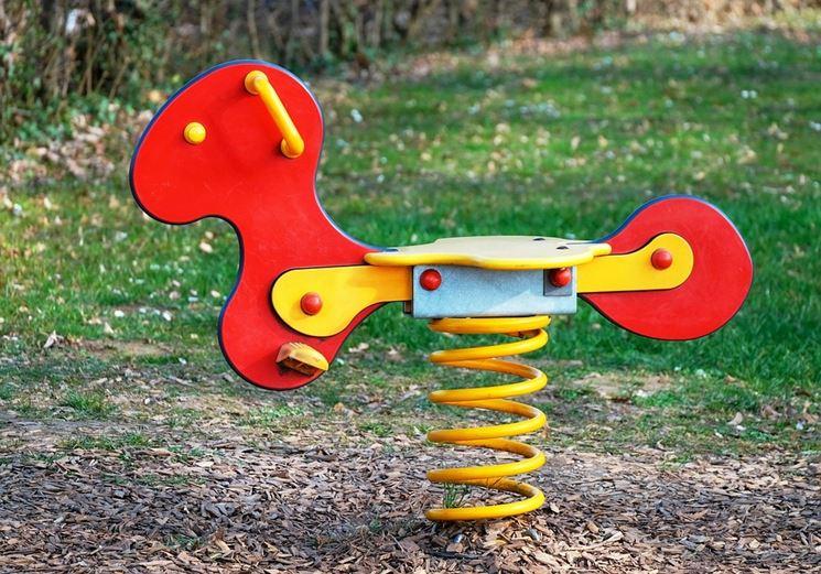 Dondolo bambini giochi da giardino dondolo da giardino per bambini