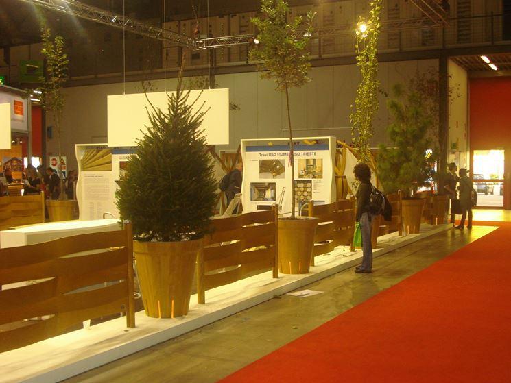 Divisori per giardini in legno