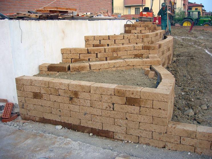 Recinzioni giardino in mattoni design casa creativa e for Divisori da giardino