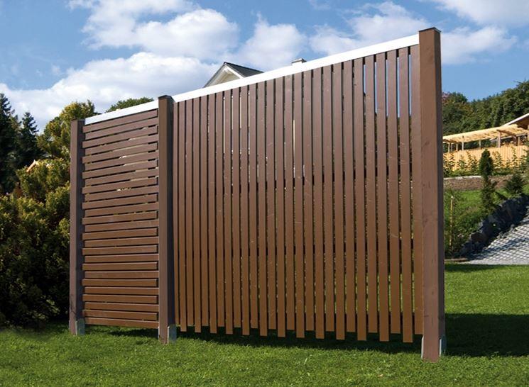 Steccato Per Giardino In Pvc : Grigliati e frangivento da giardino