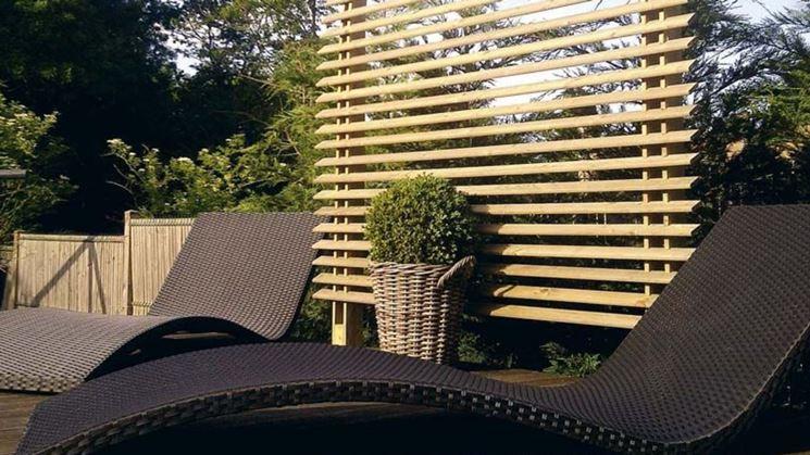 Grigliati per giardino grigliati e frangivento da for Divisori da giardino