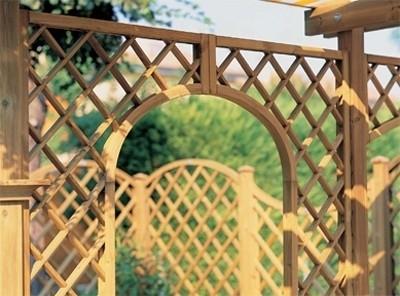 Grigliati per giardino grigliati e frangivento da - Griglie da esterno ...