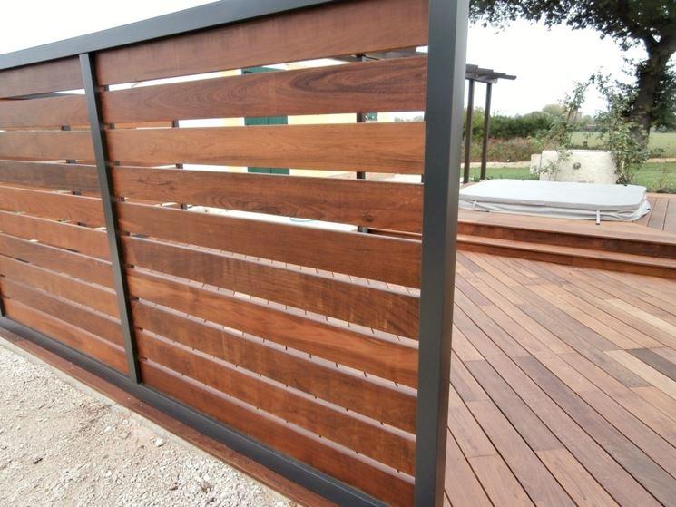 Grigliati per terrazzi grigliati e frangivento da for Idee per recinzioni esterne