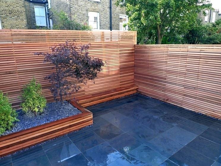 Grigliati per terrazzi grigliati e frangivento da giardino perch scegliere gligliati per - Recinzione terrazzo ...