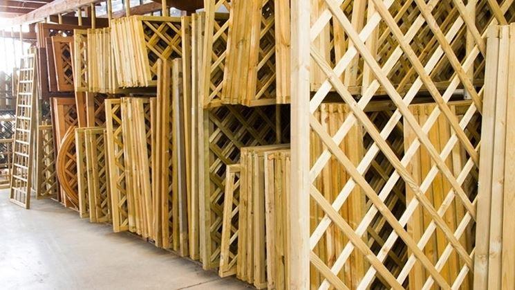 Griglie legno giardino grigliati e frangivento da giardino griglie per il giardino in legno - Grigliati in legno ikea ...