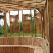frangivento legno