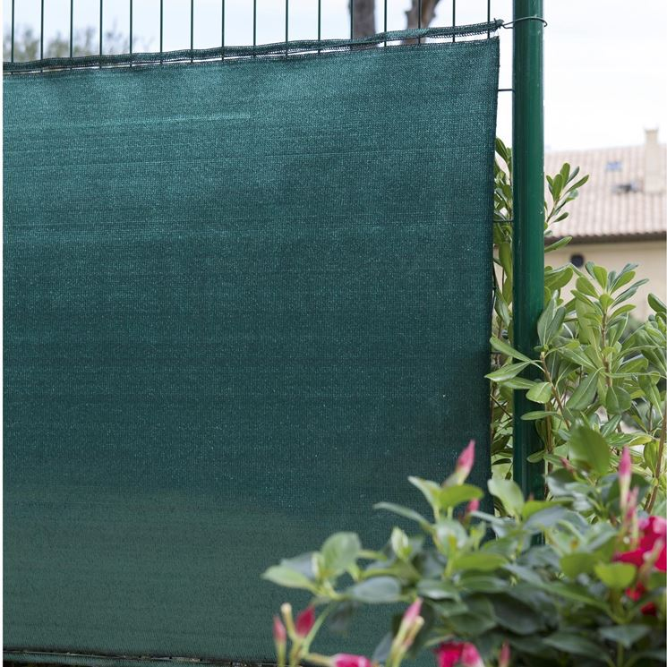 rete frangivento da giardino