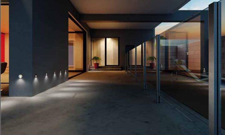 Faretti da incasso illuminazione giardino for Lampade a led per interni prezzi