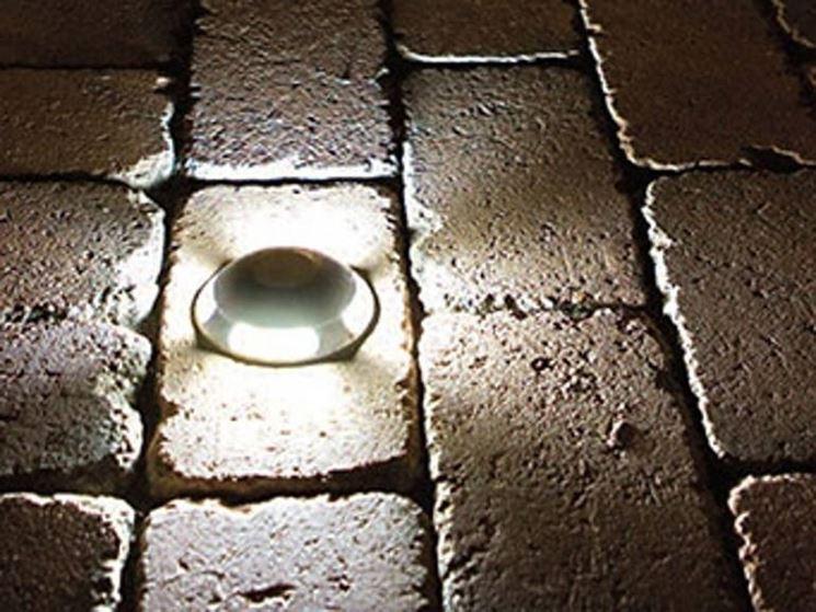 Faretti da incasso - illuminazione giardino - Caratteristiche dei faretti da ...