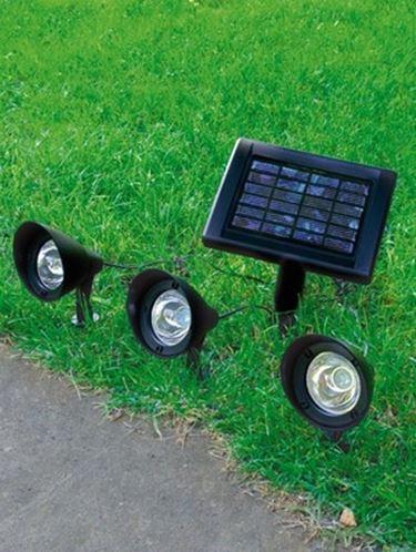 Faretti giardino illuminazione giardino - Illuminazione da giardino solare ...