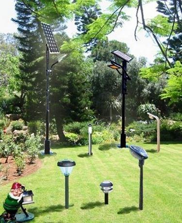 Impianto illuminazione giardino illuminazione giardino - Lampade ad energia solare per giardino ...