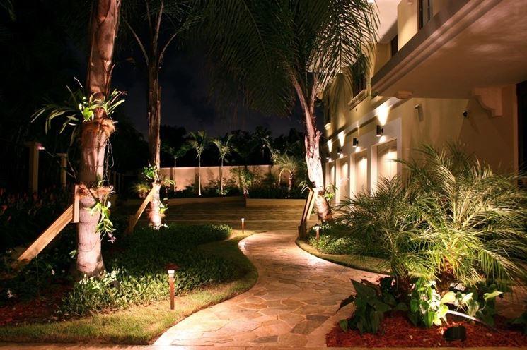 Impianto illuminazione giardino - illuminazione giardino - Come ...