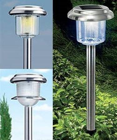 Un esempio di luci da giardino.
