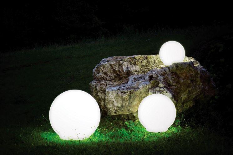 luci giardino decorative