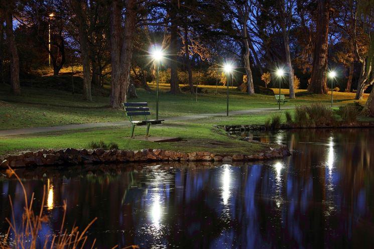 Luci per il giardino illuminazione giardino luci giardino u design