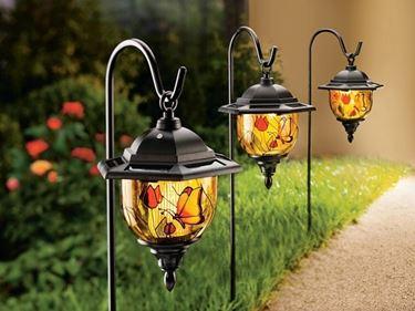lanterne solari da giardino