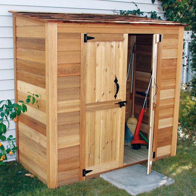 Armadi da giardino mobili da giardino armadi da giardino come scegliere - Mobili in legno da esterno ...