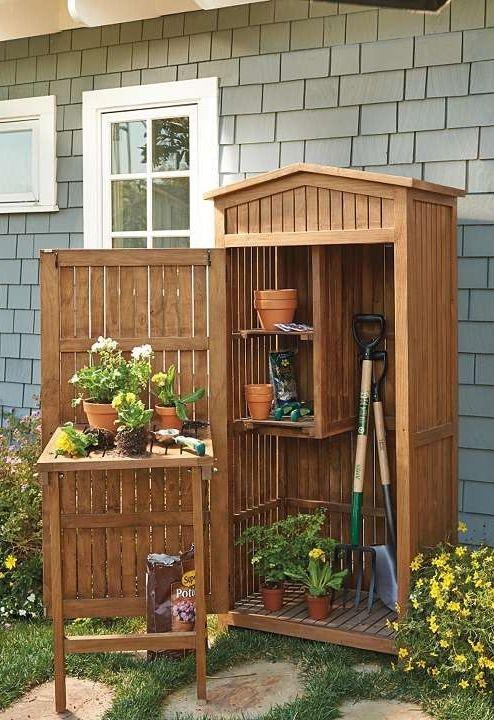 Armadio per esterno in legno