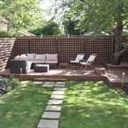 Un soggiorno in giardino