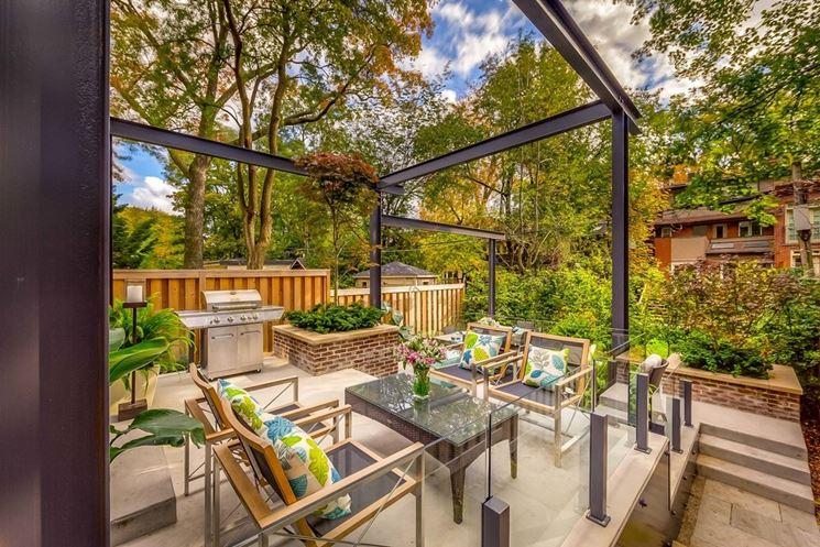 Arredamento moderno mobili da giardino arredamento for Arredamento da giardino