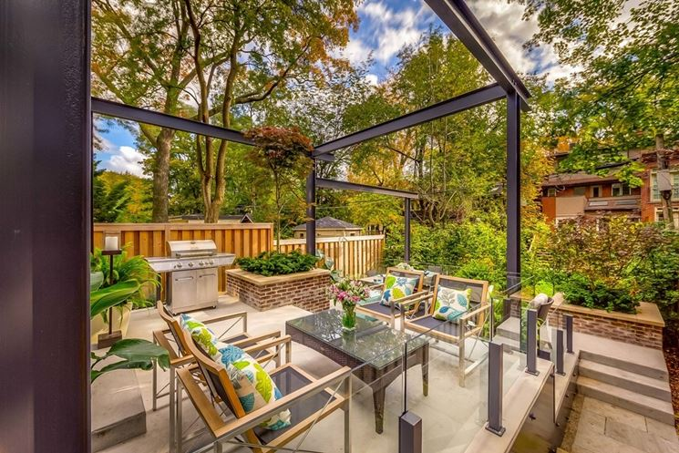 Arredamento moderno mobili da giardino arredamento for Arredo giardino terrazzo