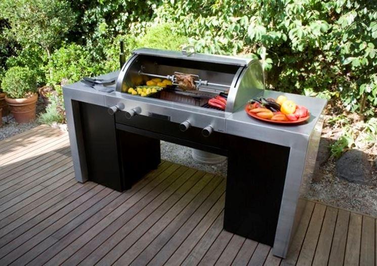 Arredamento per giardino mobili da giardino - Cucina da giardino ...