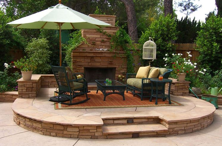 arredo per giardino - mobili da giardino - giardino arredo - Idee Arredamento Da Giardino