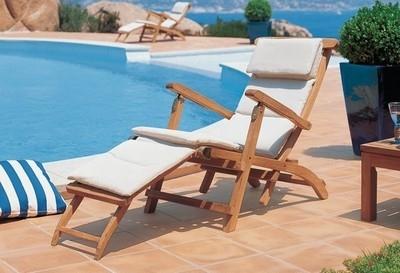 Chaise lounge da giardino mobili da giardino for Arredamento da giardino prato