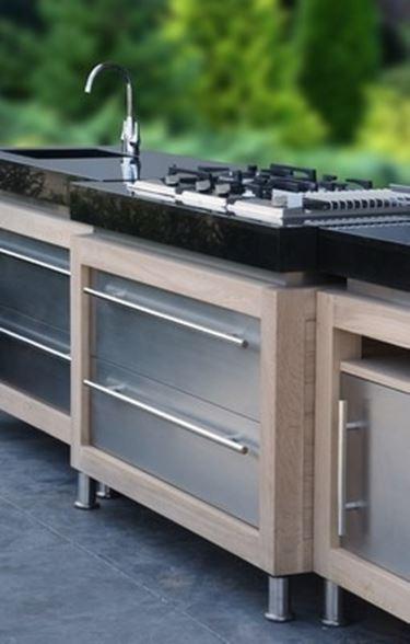 cucina da giardino - mobili da giardino