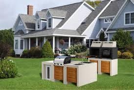 Cucina da giardino mobili da giardino for Cucine modulari
