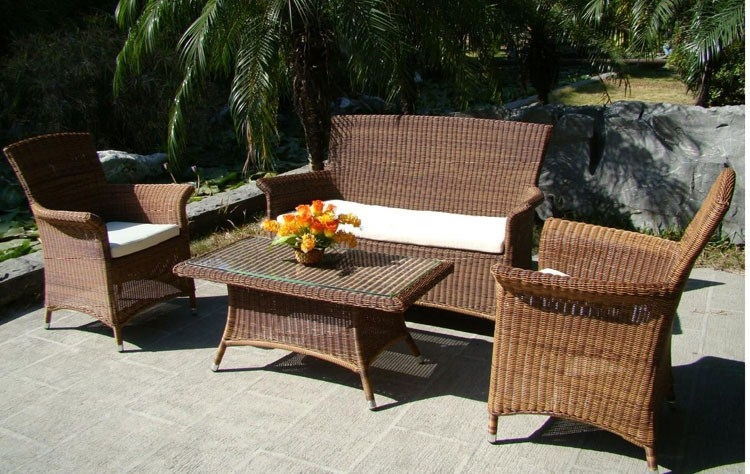 Divani da giardino in rattan mobili da giardino divani - Divani da giardino usati ...