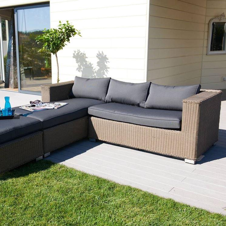 Divani da giardino mobili da giardino come scegliere i - Divani da esterno ...