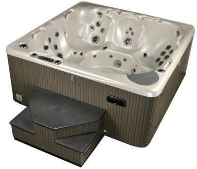 Idromassaggio per esterno mobili da giardino - Vasca da bagno piscina ...