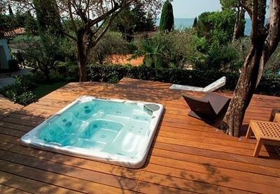 idromassaggio per esterno - mobili da giardino