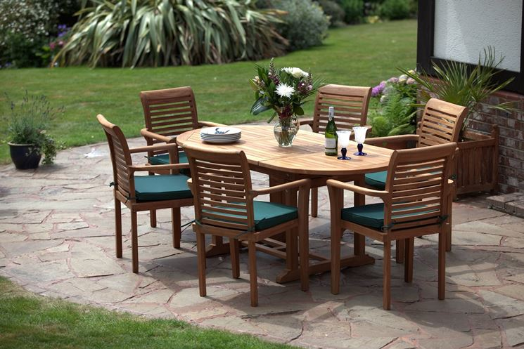 Legno per mobili da giardino - mobili da giardino - Arredo giardino in ...