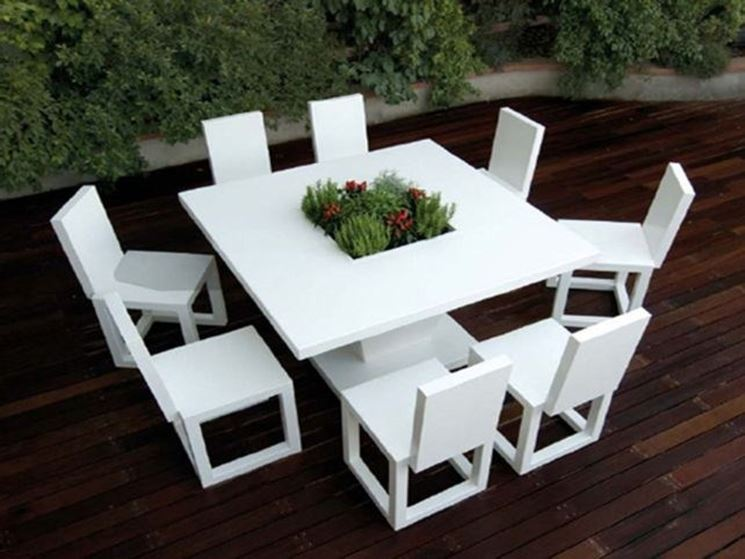 Mobili da giardino design ~ Mobilia la tua casa