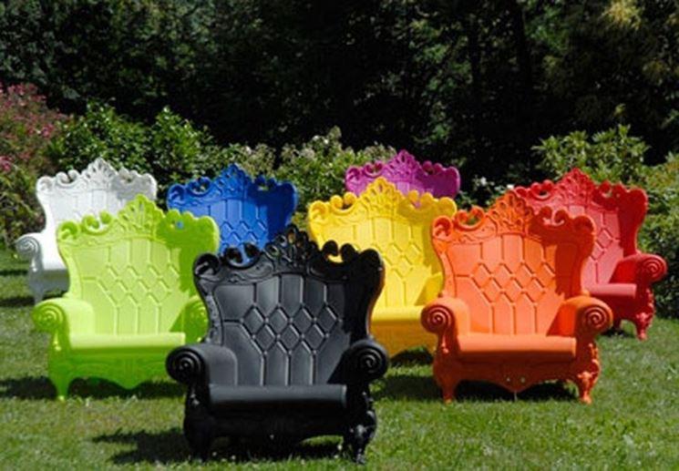 Mobili da giardino plastica - mobili da giardino - Arredare il ...