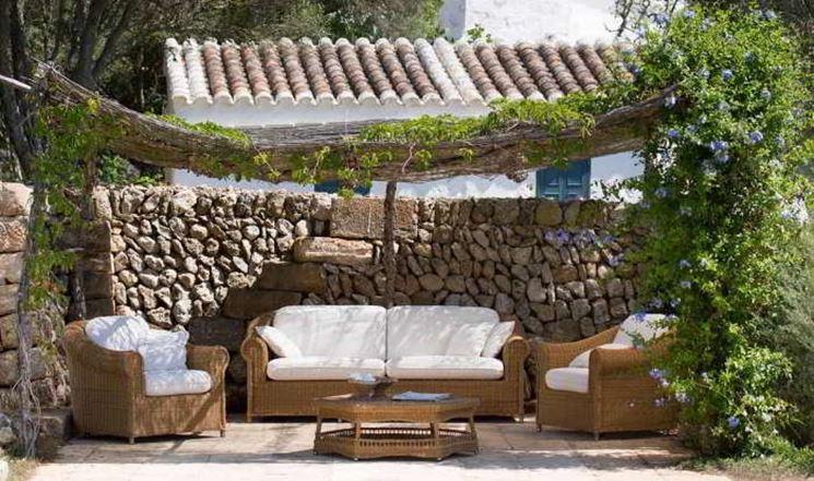 Mobili esterno mobili da giardino spunti e - Arredare piccolo giardino ...
