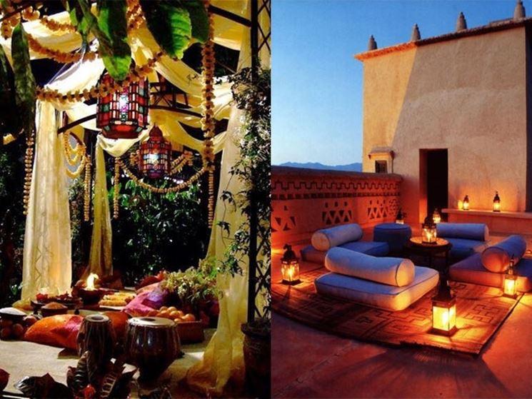 Idee d'arredo per terrazzo in stile marocchino. (Fonte: ellyhailsinteriors.files.wordpress.com)