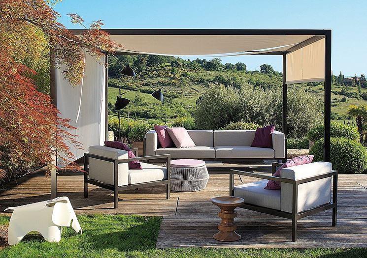Ombrelloni da giardino - mobili da giardino - Come scegliere gli ...