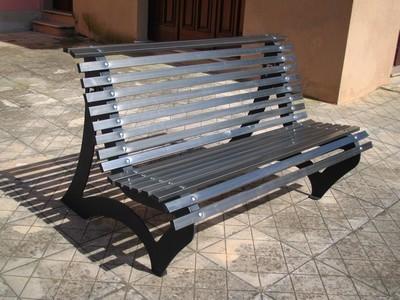 Mobili lavelli panchina classica per terrazzi giardinaggio - Panchine da giardino in ghisa ...