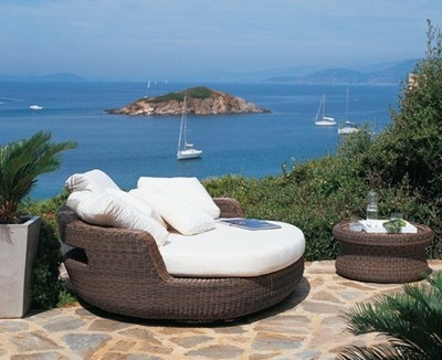 Poltrone da giardino mobili da giardino - Cuscini per poltrone da giardino ...
