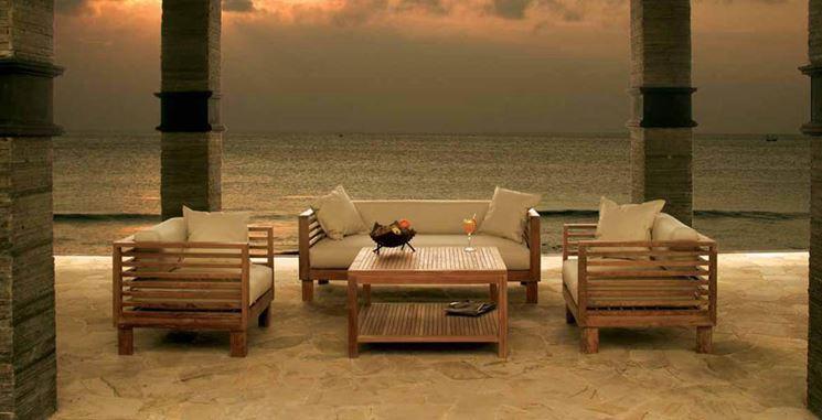 Salotti per esterno mobili da giardino caratteristiche - Mobili in ferro per esterno ...