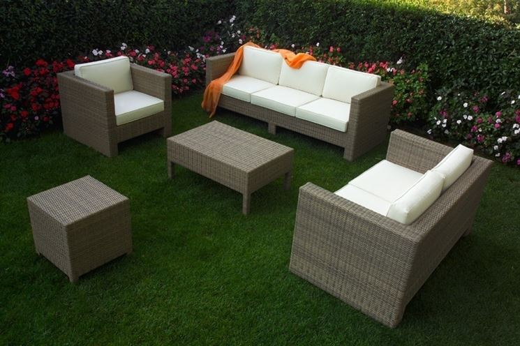 Salotti per esterno mobili da giardino caratteristiche - Salotti da giardino in rattan ...