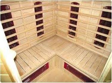 La sauna con tecnologia ad infrarossi