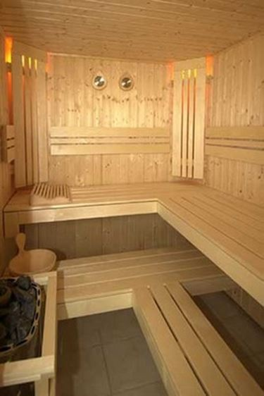 sauna in legno