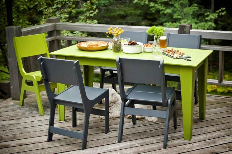 tavolo da giardino desing